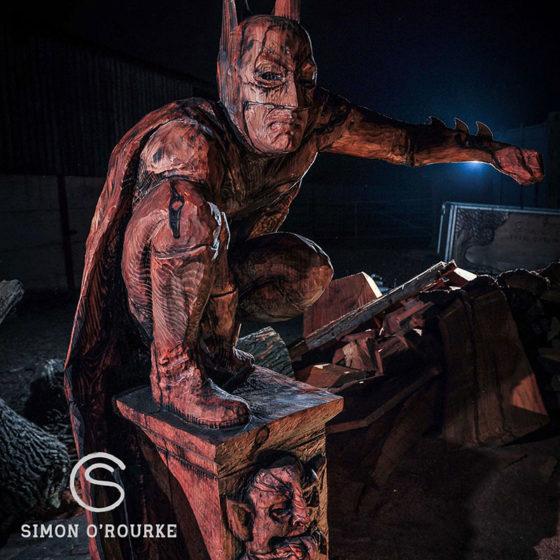 Movie based sculptures: Batman by Simon O'Rourke