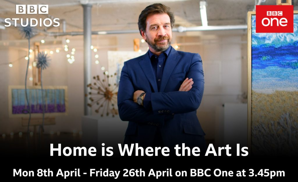 Nick Knowles promotes Home is Where the Art is
