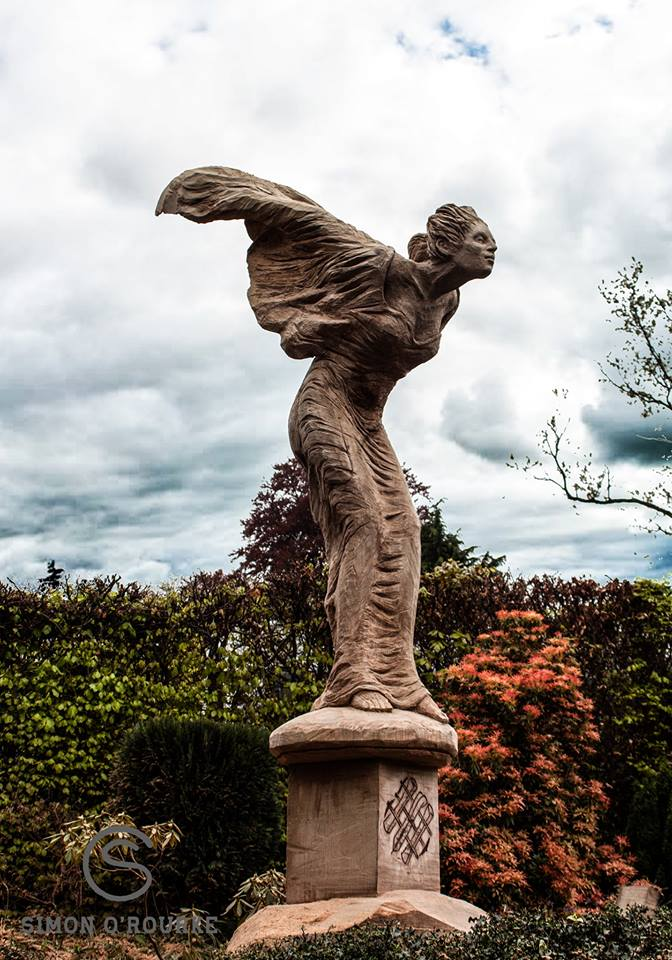 Spirit of Ecstasy by Simon O'Rourke