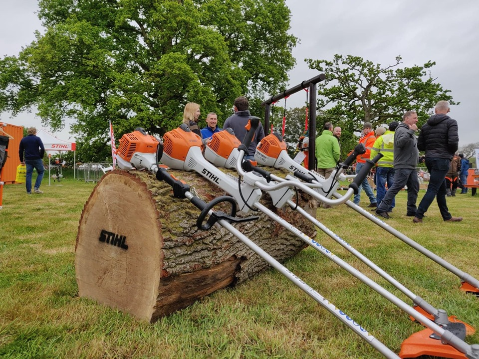 Stihl Exhibit at The Arb Show 2019