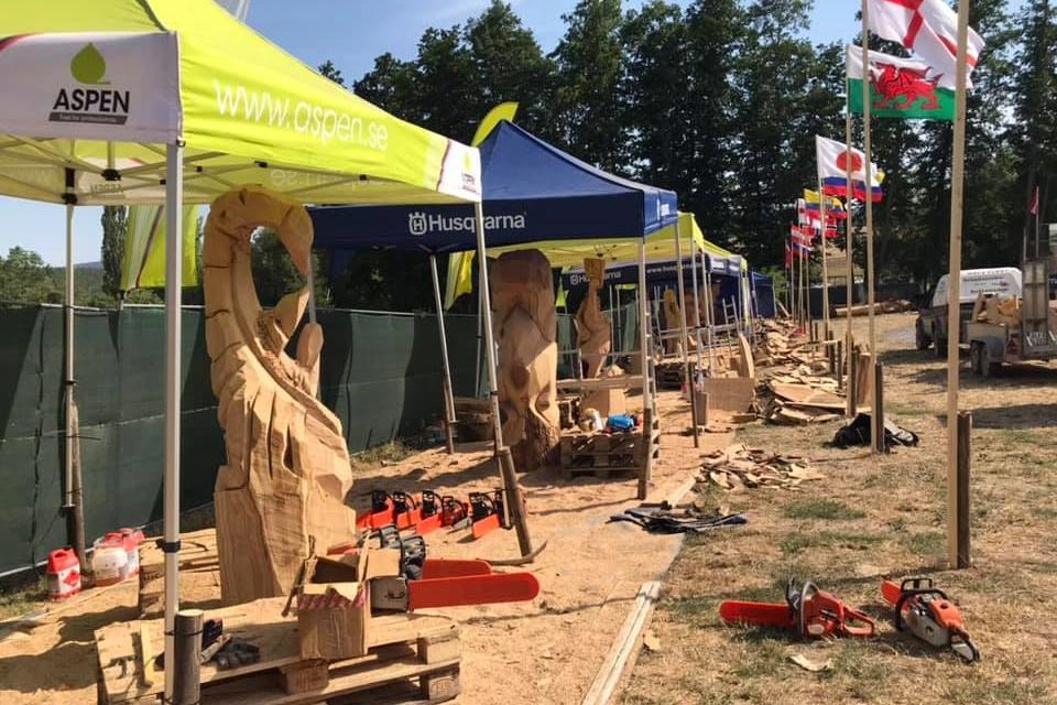 Skulptur Rabatz stands 2019