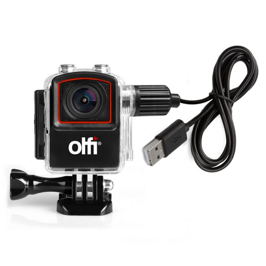 Olfi external power and record case