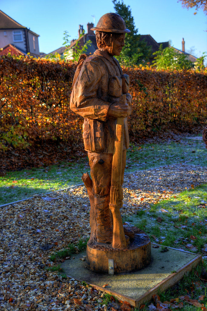 World War I soldier by Simon O'Rourke, Chorley