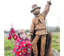 Tattybogle the Scarecrow by Simon O'Rourke