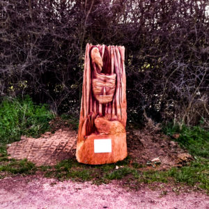 Sculpture Trail by Simon O'Rourke in Page's Wood