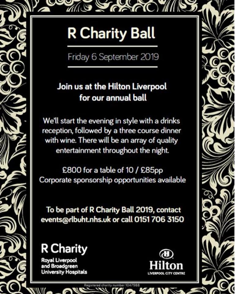 R Charity 4th Annual Ball