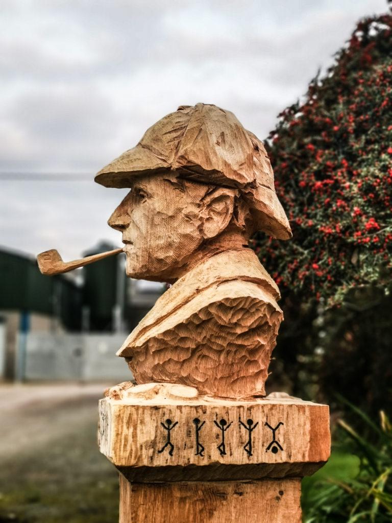 Sherlock Holmes Sculpture by Simon O'Rourke
