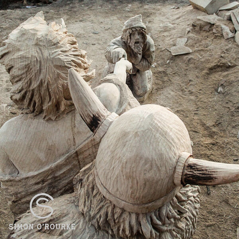 Viking Raid at Huskycup 2016 by Simon o'Rourke