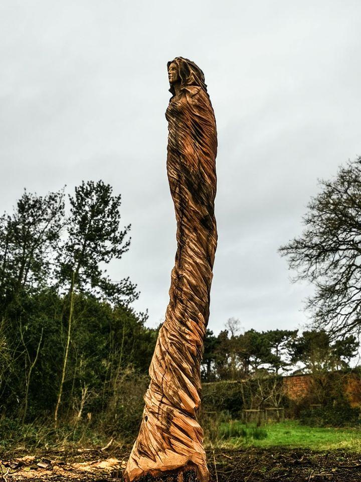 Marbury Lady Sculpture by Simon O'Rourke