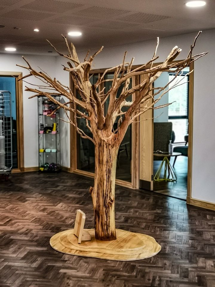 Giving tree sculpture for Ronald McDonald House, Oxford by Simon O'Rourke