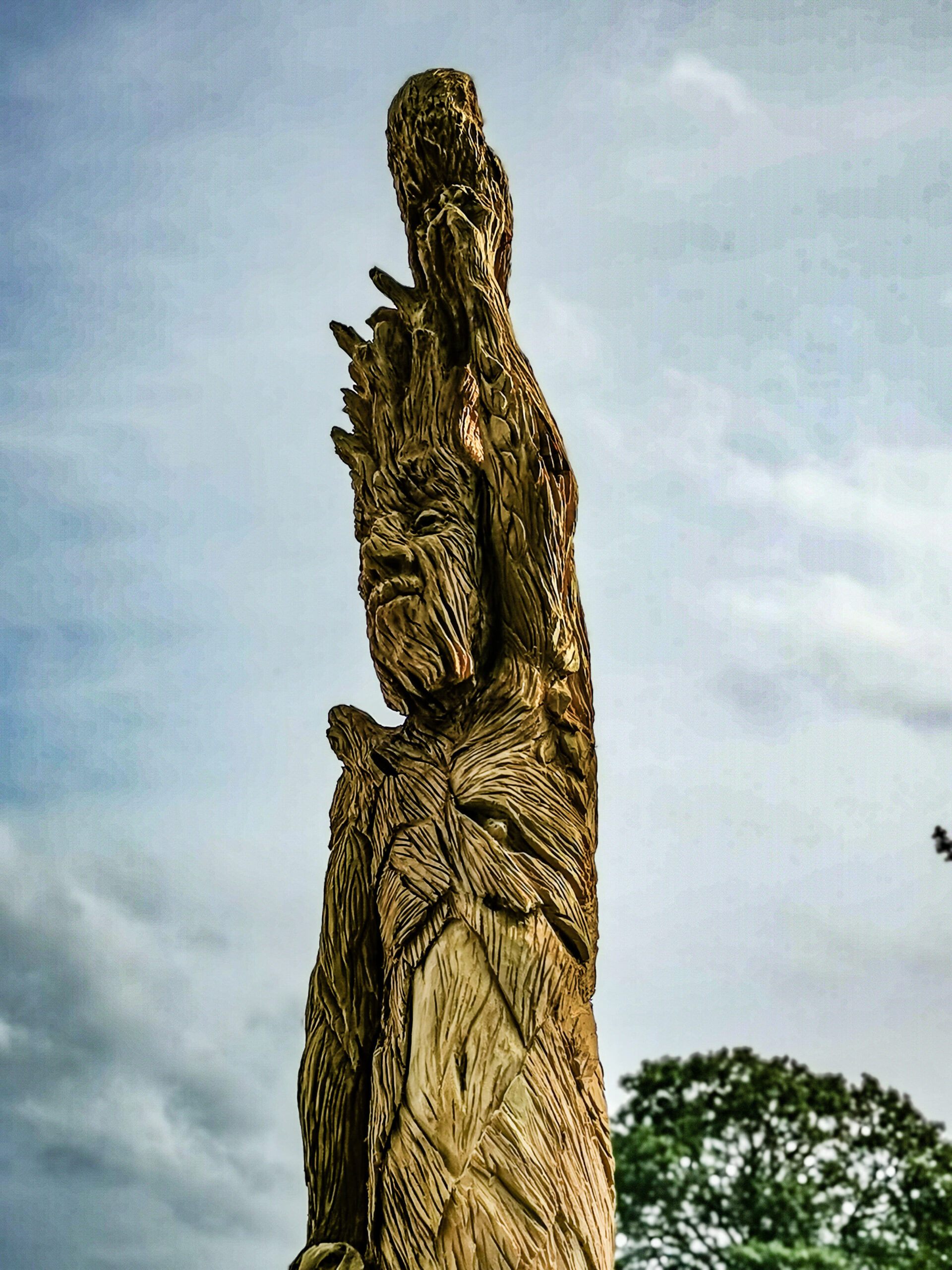 ent sculpture by simon o'rourke at poulton hall