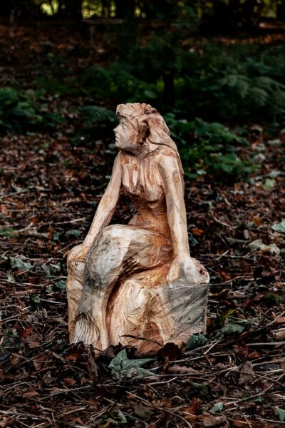 Sculptures for world book day by simon o'rourke. The Little Mermaid from the Hans Christian Andersen classic.